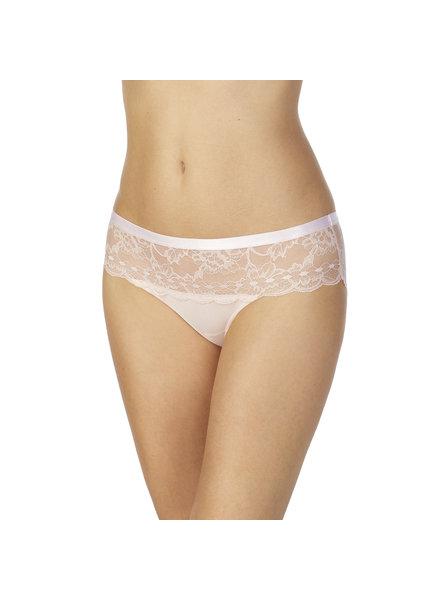 LE MYSTERE Light Luxury Lace Bikini Panty - Shell