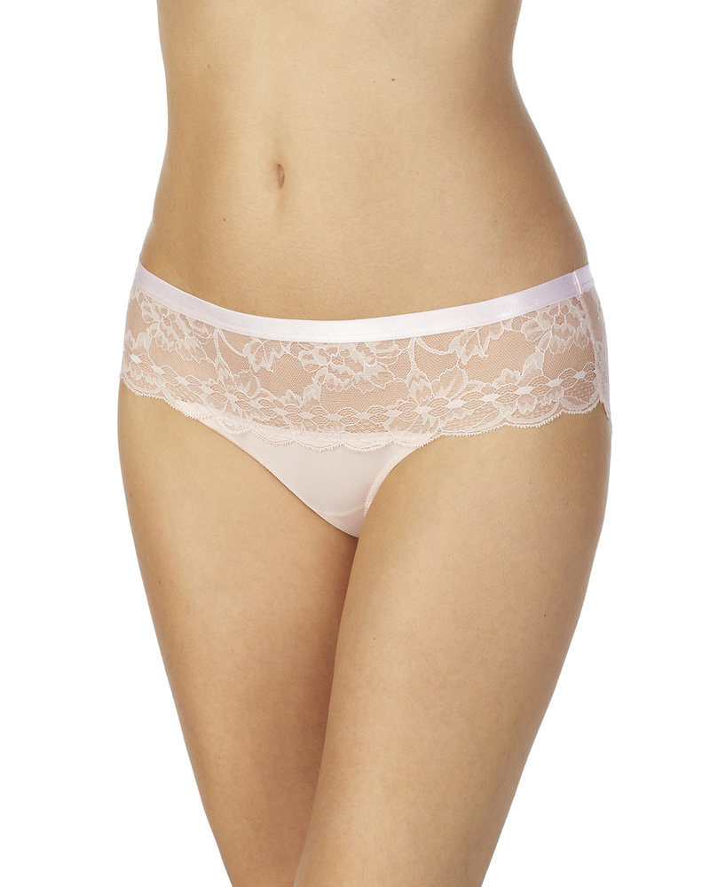 LE MYSTERE Light Luxury Lace Bikini Panty - Shell
