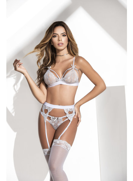 Vivian Bra Set - Gray