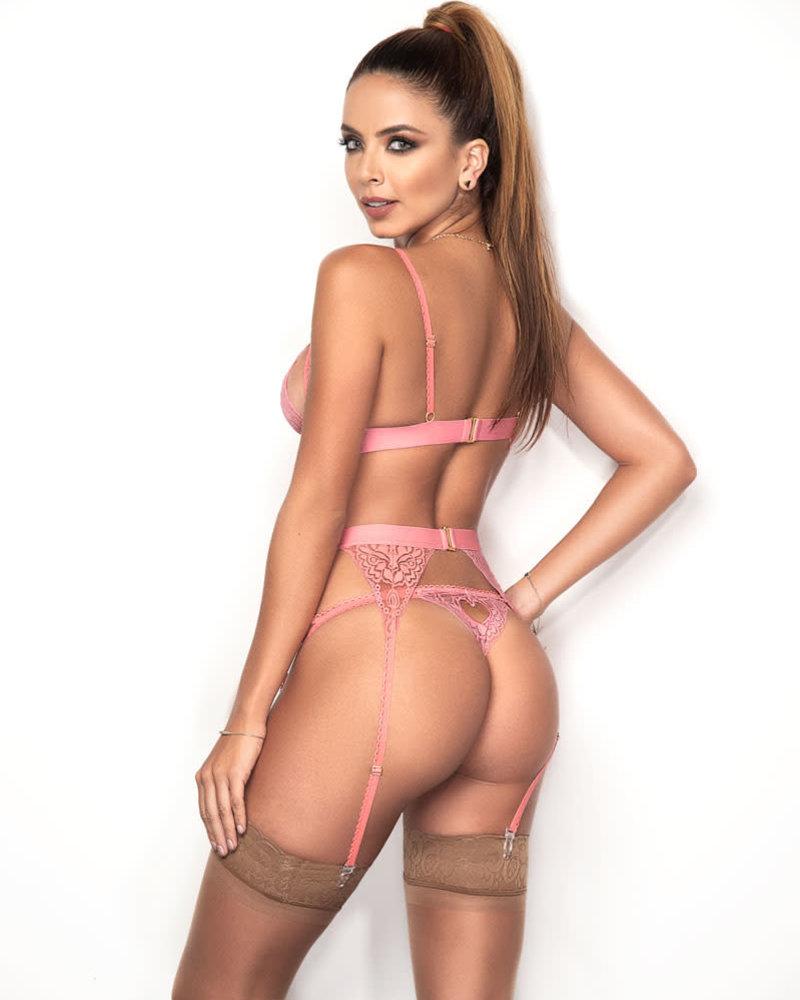 Vivian Bra Set - Light Pink