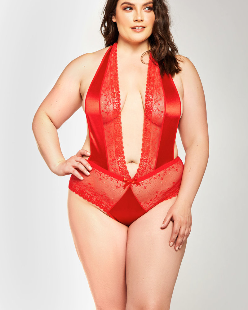 Plus Size Scarlet Teddy