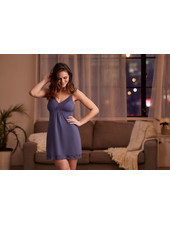 Montelle Bust Support Chemise - Steel