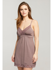 Montelle Bust Support Chemise - Almond Spice