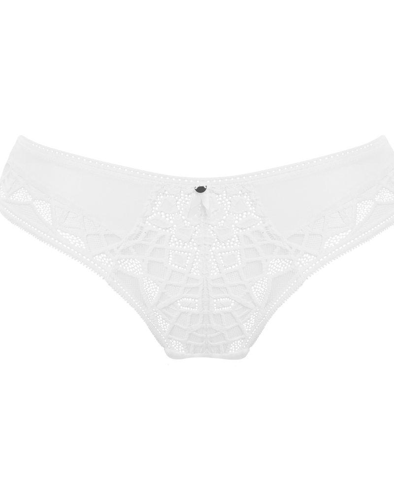 Freya Soiree Lace Brief - White