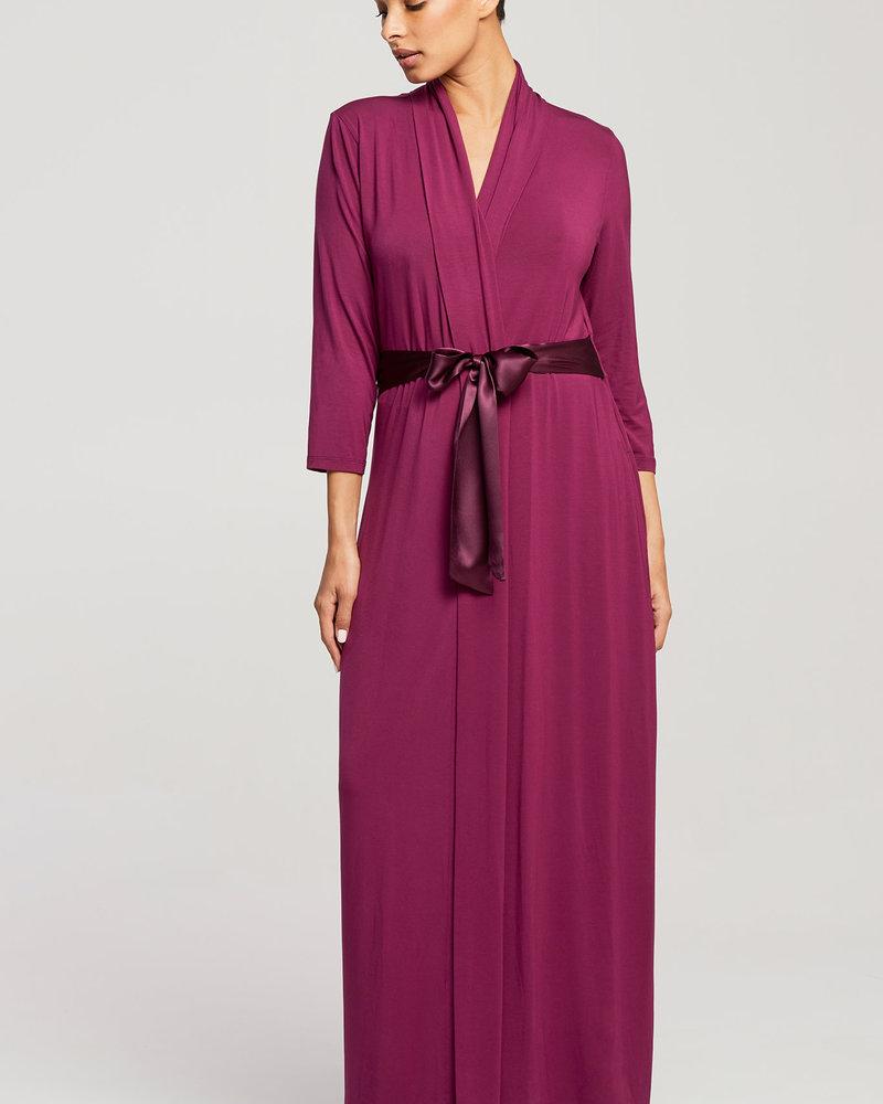 Fleur't Fleur't Long Robe with Silk Ties