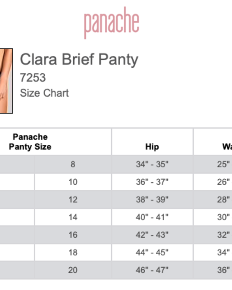 Panache Panache Clara Brief Panty
