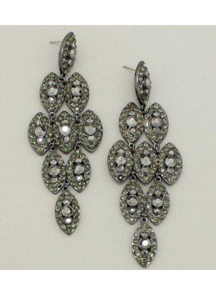 Drop Earrings Hematite