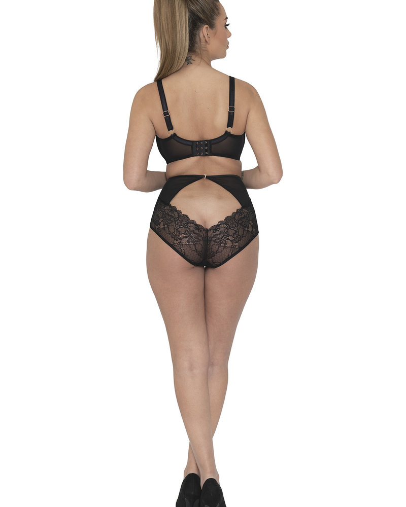 Curvy Kate Curvy Kate Scantilly Peek-A-Boo Lace High Waist Brief Panty