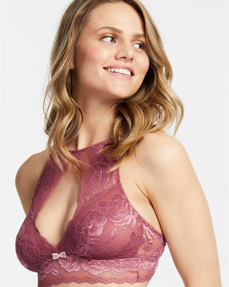 Montelle Moonlight & Roses High Neck Bralette