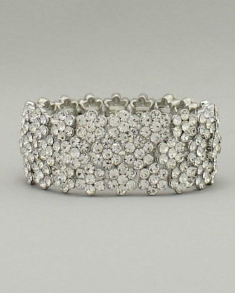 Crystal Bracelet Clear-Silver