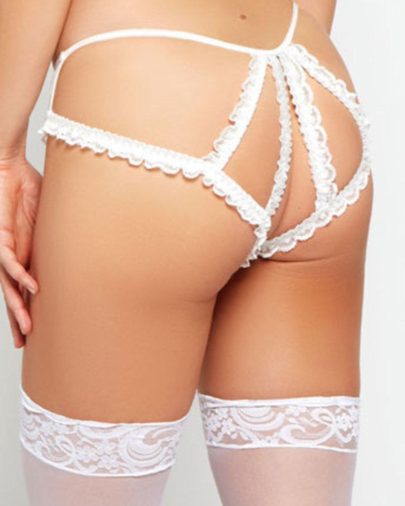 Macy Mesh Crotchless Panty