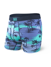 SAXX SAXX Blue Palm Sunset Boxer Brief