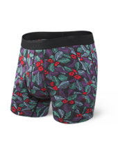 SAXX SAXX Blue Skattered Leaf Boxer Briefs