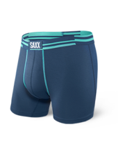 SAXX SAXX Blue / Alternating Stripe Boxer Briefs