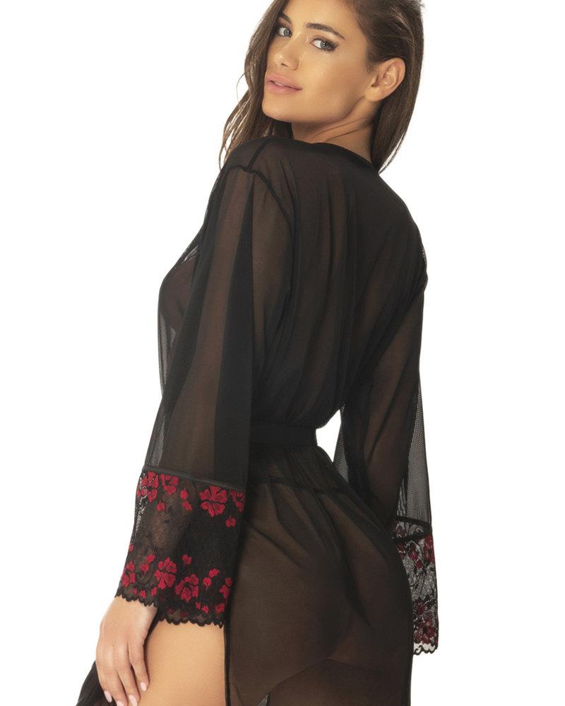 Estella Floral Lace Robe