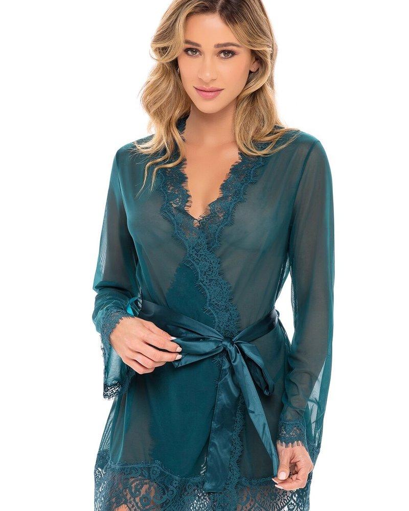 Eyelash Lace Robe Set