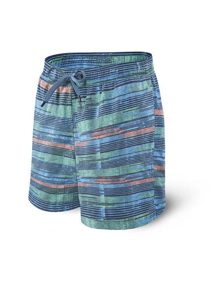 SAXX SAXX Blue Point Break Swim Shorts