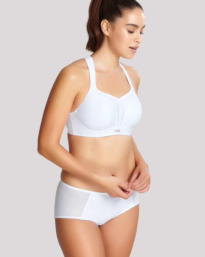 Panache Panache Full-Busted Underwire Sports Bra - White