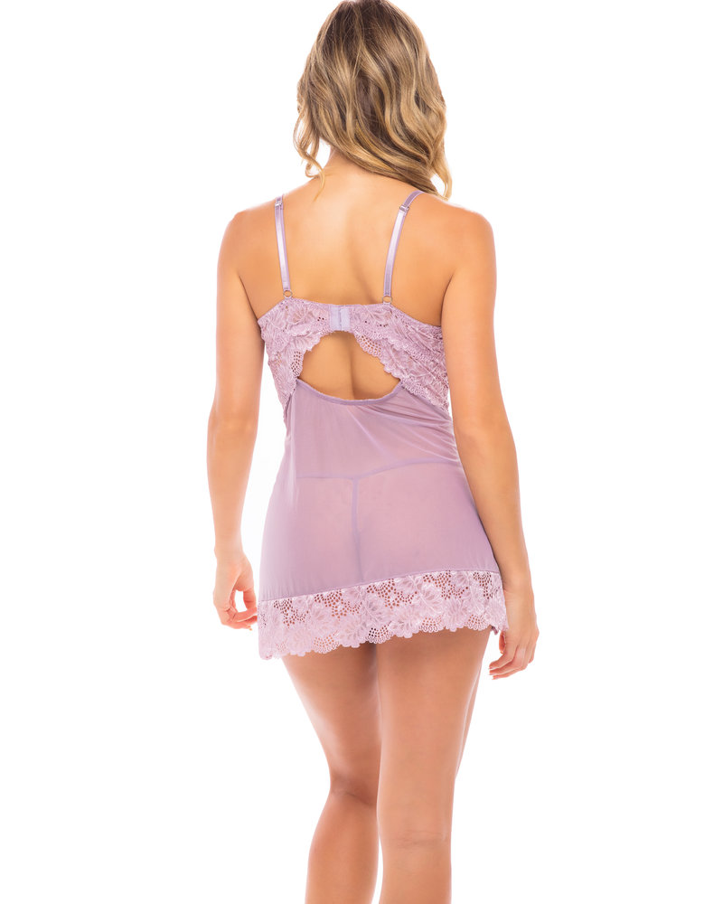 Penelope Floral Lace Babydoll