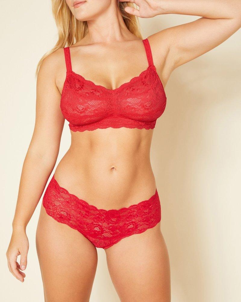 Cosabella Cosabella Never Say Never Curvy Bralette - Red