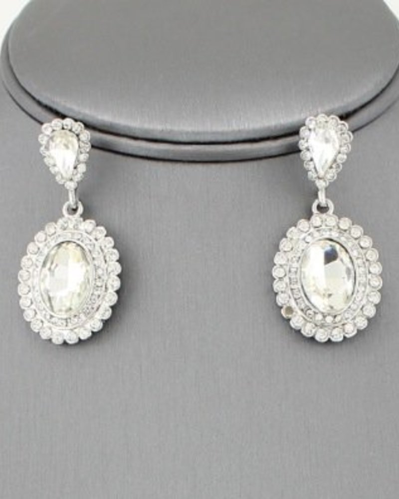 Bridal Drop Earrings
