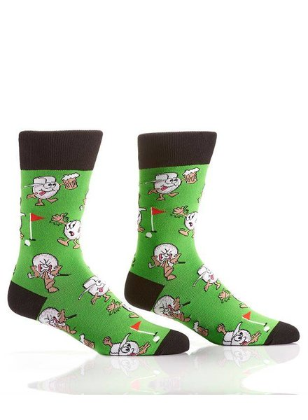 Golf Balls & Beer Socks