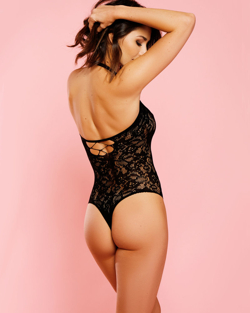 Ava Floral Lace Teddy