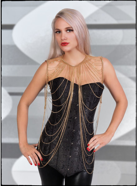 Shoulder Drape Body Chain