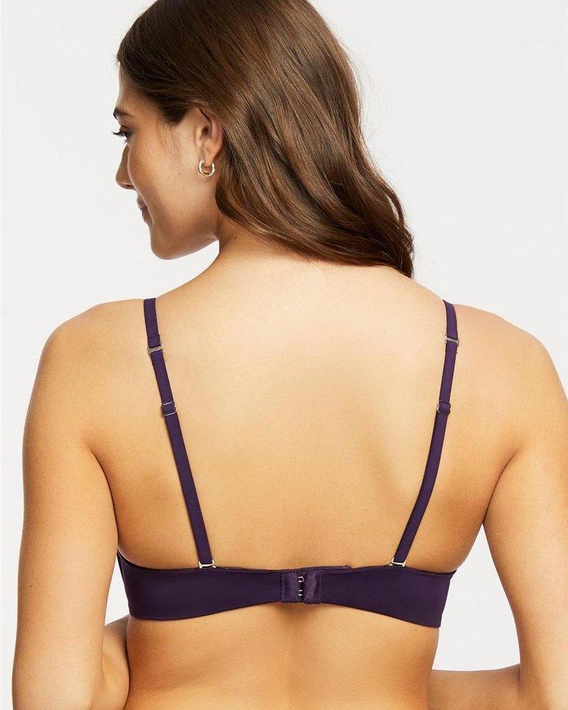 Montelle Montelle Wire Free T-Shirt Bra - Purple Velvet