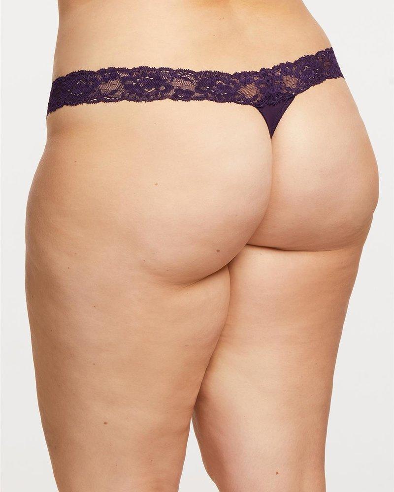 Montelle Montelle Thong - Purple Velvet
