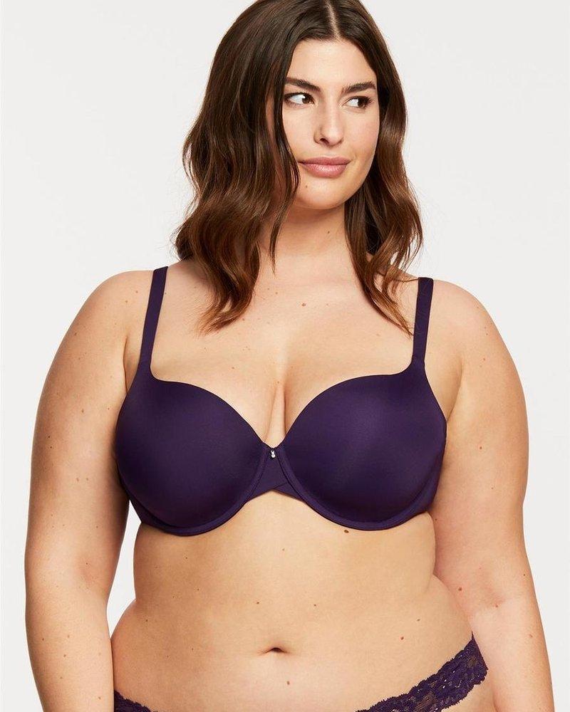 Montelle Montelle Pure T-Shirt Bra - Purple Velvet