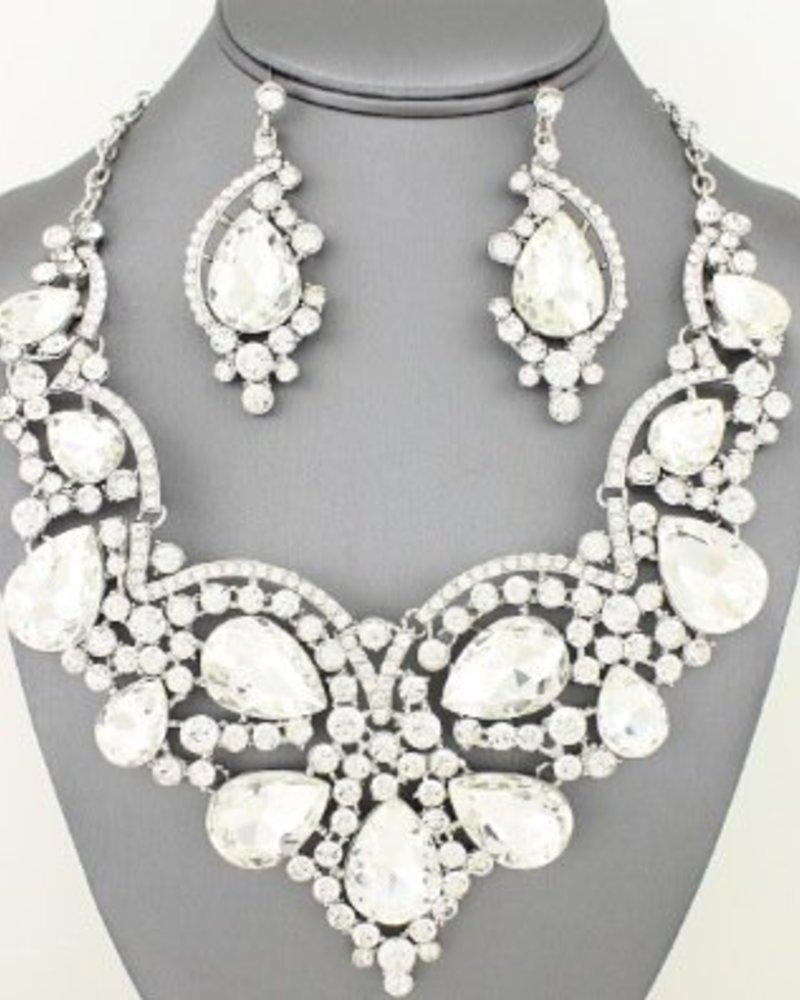 Teardrop Necklace Set