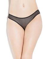 Francesca Fishnet Crotchless Panty