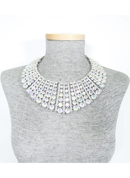 Fan Collar Necklace Set