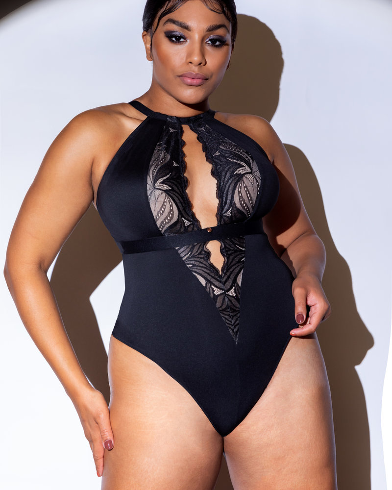 Curvy Kate Curvy Kate Scantilly Indulgence Stretch Lace Bodysuit