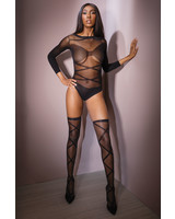 Coquette Crazy About Me Criss Cross Teddy
