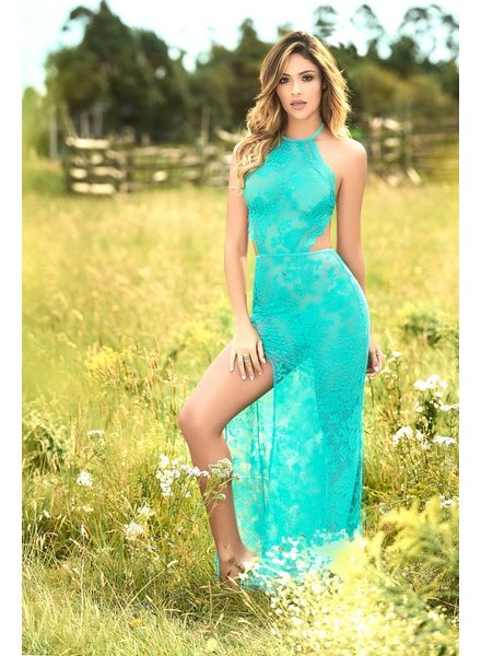 Mapale Tatiana Teal Gown