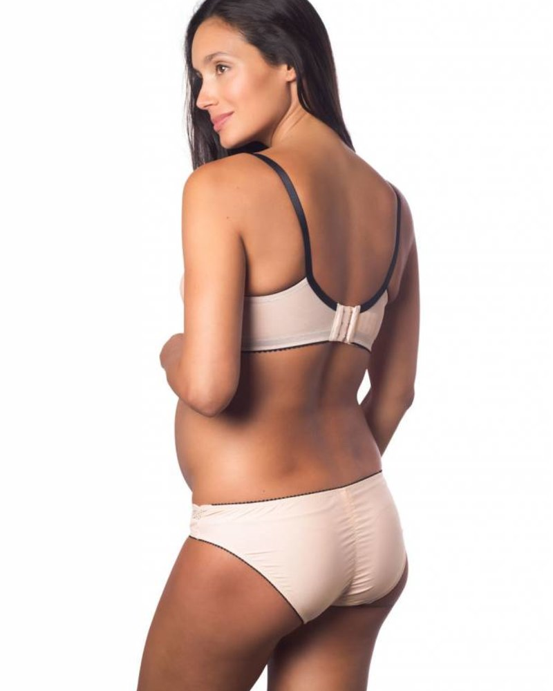 Hotmilk SHOW OFF SILVER PEONY BIKINI BRIEF