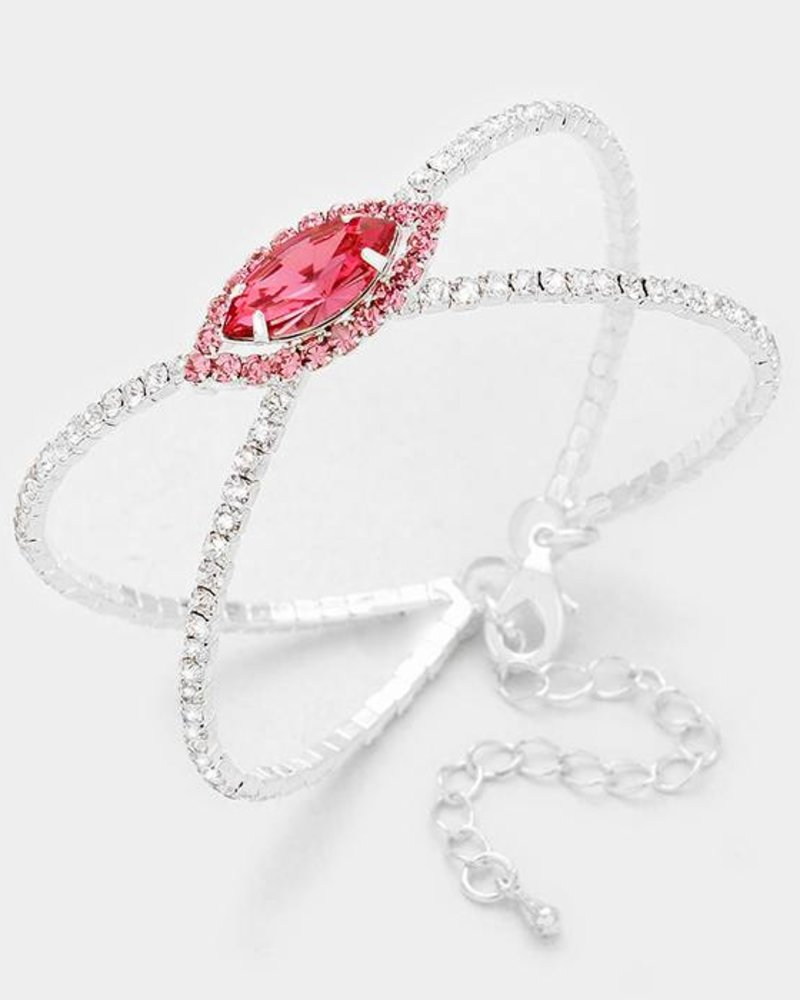 Marquise Cage Evening Bracelet
