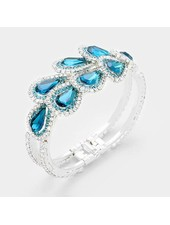 Teardrop Evening Bracelet