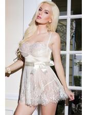 Coquette Elegance Bridal Babydoll
