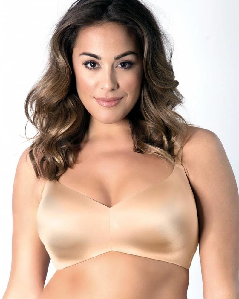 Curvy Couture Flawless Contour Wire-Free Bra