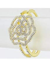 Rose Hinged Cuff