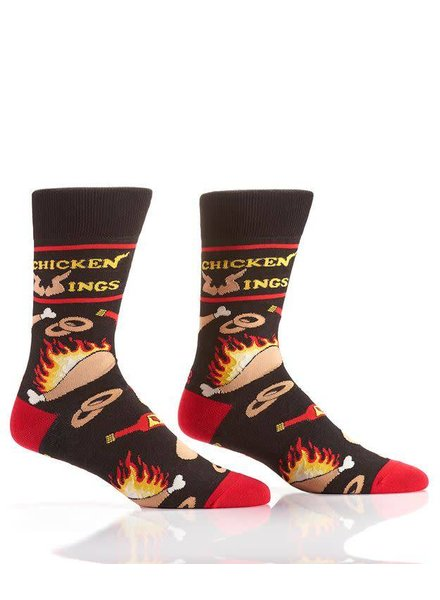 Chicken Wings & Hot Sauce Socks