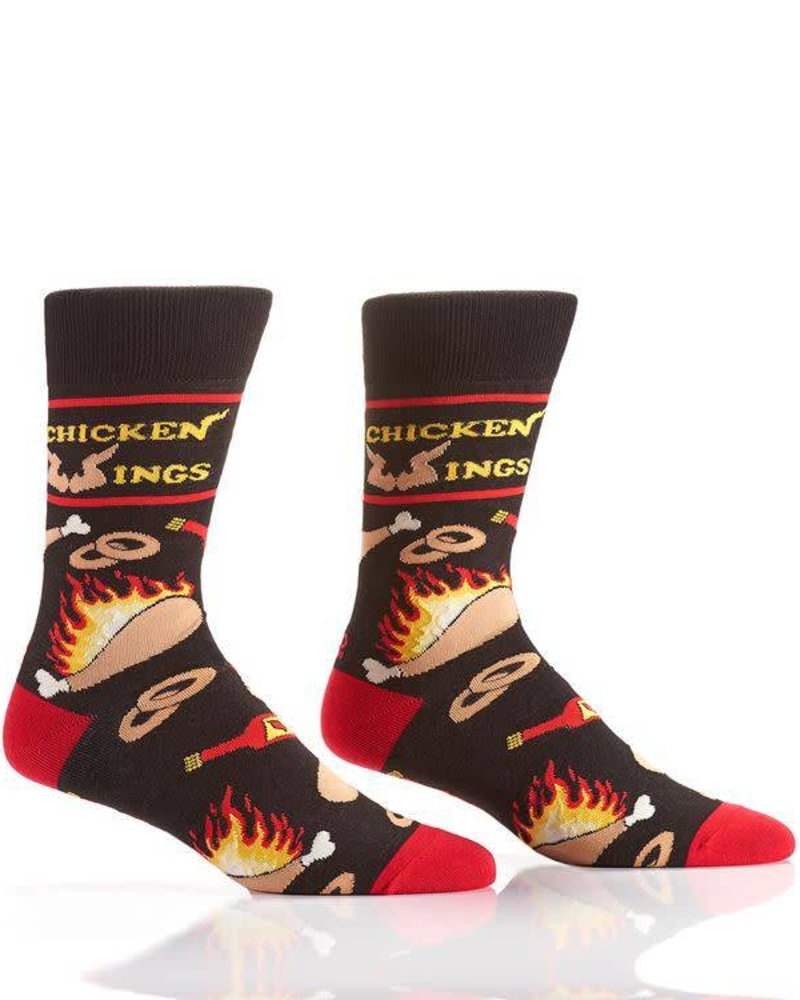 Chicken Wings & Hot Sauce Socks