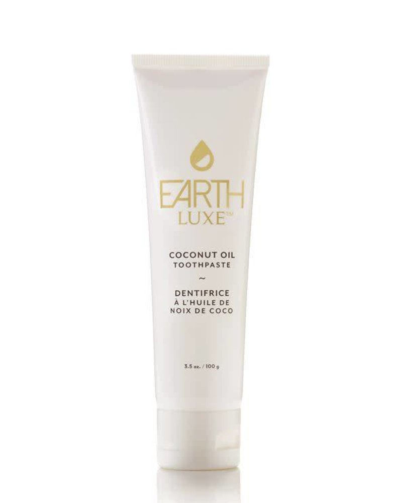 EARTH LUXE PURE NATURAL COCONUT OIL TOOTHPASTE