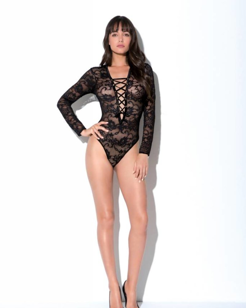 Hauty MONARCH LACE TEDDY