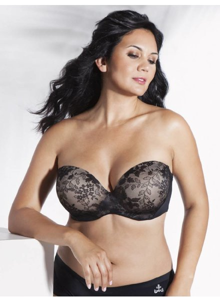 Curvy Couture STRAPLESS SENSATION MULTI-WAY PUSH-UP