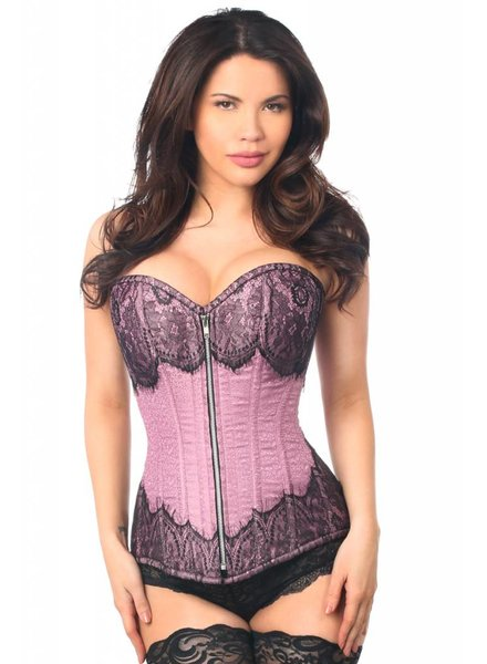 BROCADE STEEL BONED CORSET