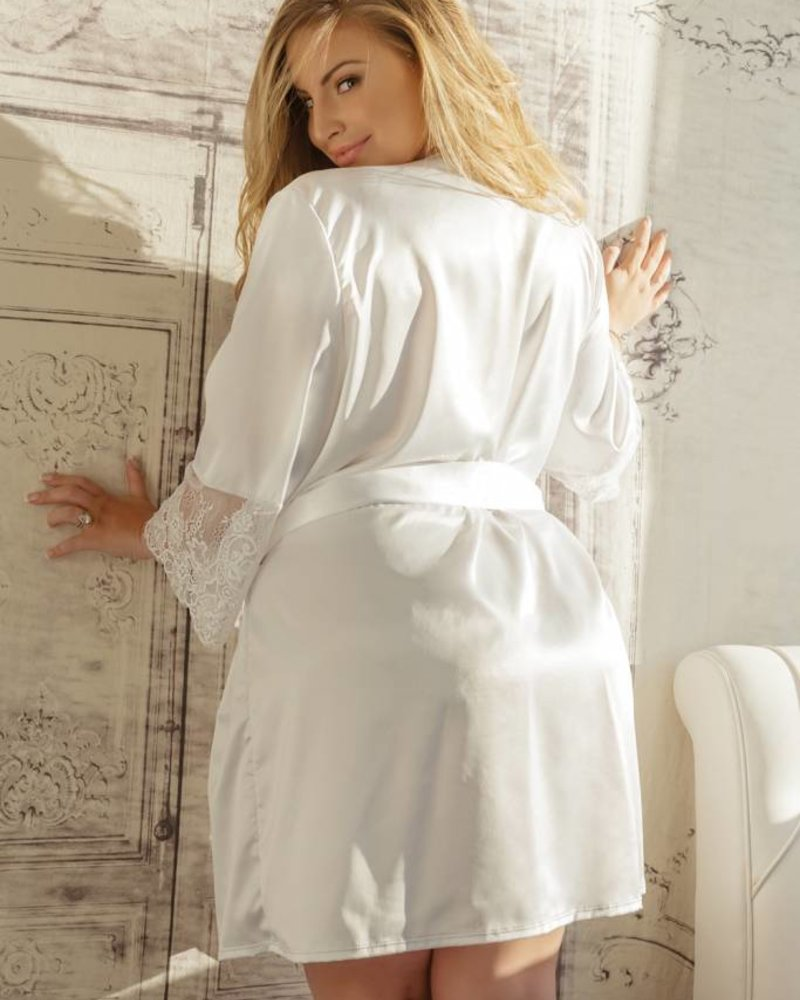 Coquette WHISPERING WHITES ROBE